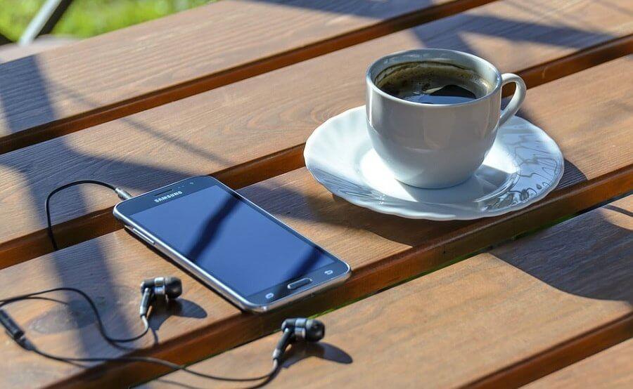 biznesowy smartfon